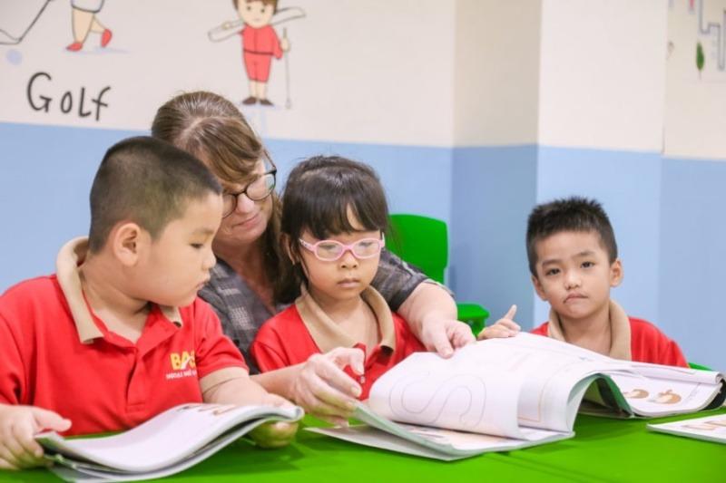 Khóa học tiếng Anh trẻ em tại trung tâm ngoại ngữ BAS Anh Mỹ